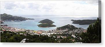 Caribbean Cruise - St Thomas - 12124 Canvas Print by DC Photographer
