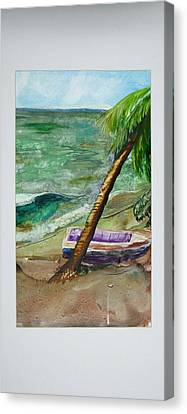 Caribbean Morning II Canvas Print by Keith Thue