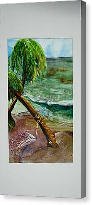 Caribbean Morning Canvas Print by Keith Thue