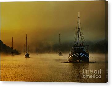 Carina In The Mist Canvas Print by English Landscapes