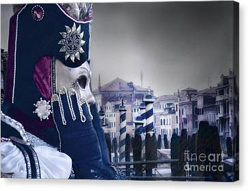 Carnival In Venice 20 Canvas Print by Design Remix