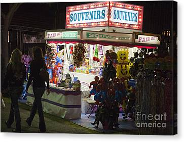 Carnival Souvenirs Canvas Print by Jason O Watson