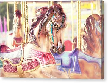 Carousel  Canvas Print by Amy Tyler