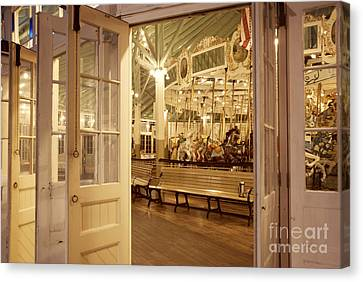 Carousel Canvas Print by Juli Scalzi