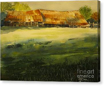 Carr Barn Canvas Print by Elizabeth Carr