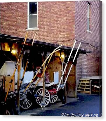 Carriage House  Canvas Print by Marvin Washington