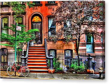 Carrie's Place - Sex And The City Canvas Print by Randy Aveille