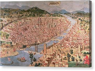 Carta Della Catena Canvas Print by Italian School