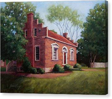 Carter House In Franklin Tennessee Canvas Print by Janet King