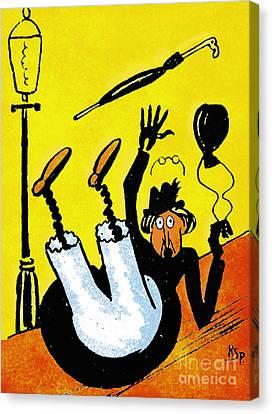 Cartoon 07 Canvas Print by Svetlana Sewell
