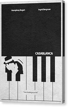 Casablanca Canvas Print by Ayse Deniz