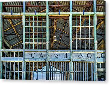 Casino Asbury Park New Jersey Canvas Print by Susan Candelario