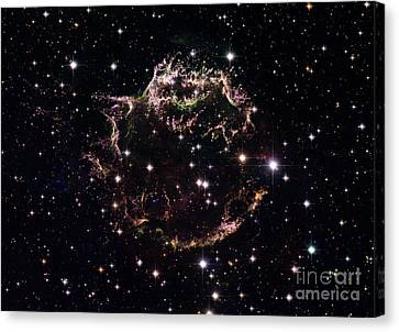 Cassiopeia A Canvas Print by Science Source