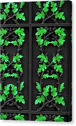 Cast Iron Gate New Orleans Canvas Print by Christine Till