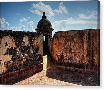Castillo San Felipe Del Morro 005 Canvas Print by Lance Vaughn