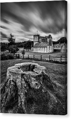 Castle Fraser Canvas Print by Dave Bowman