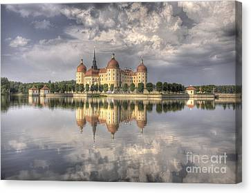 Castle In The Air Canvas Print by Heiko Koehrer-Wagner