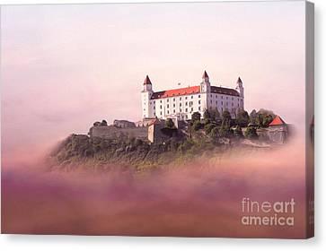 Castle In The Air II. - Bratislava Castle Canvas Print by Martin Dzurjanik