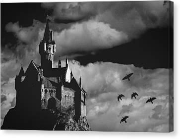 Castle In The Sky Canvas Print by Bob Orsillo