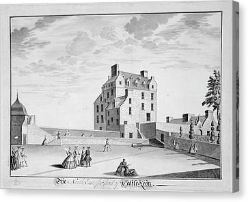 Castle Lyon Canvas Print by British Library