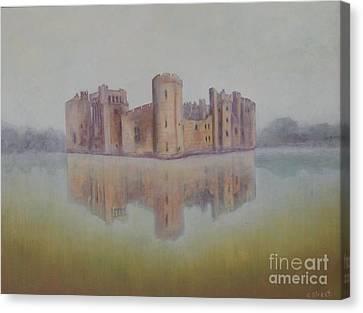 Bodiam Castle Canvas Print by Caroline Street