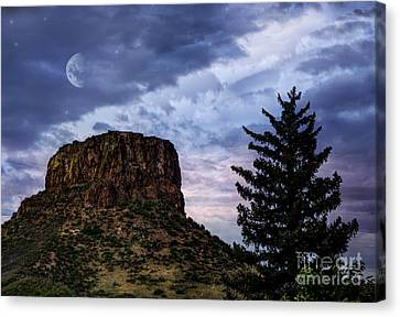 Castle Rock Canvas Print by Juli Scalzi