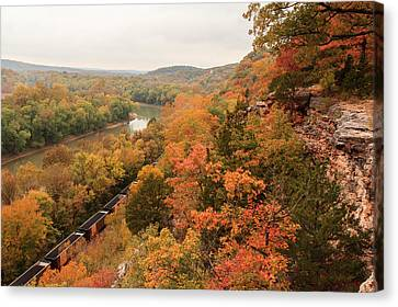 Castlewood State Park Canvas Print by Scott Rackers