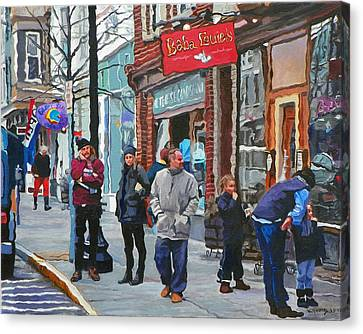 Casual Observer Canvas Print by Kenneth Young
