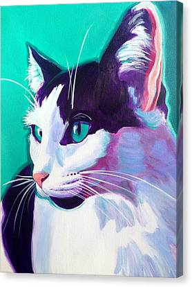 Cat - Kitty Canvas Print by Alicia VanNoy Call