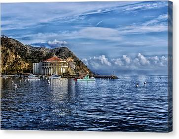 Catalina Casino Canvas Print by Mountain Dreams