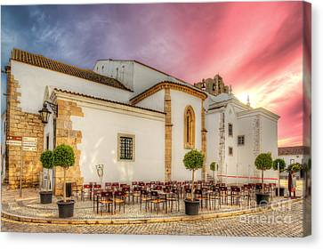 Cathedral Cafe Canvas Print by English Landscapes