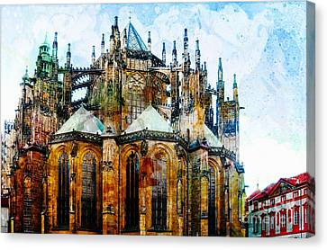 Cathedral Canvas Print by Daniela White