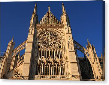 Cathedral In Evening Light Canvas Print by Aidan Moran