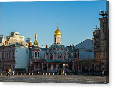 Cathedral Of Our Lady Of Kazan Canvas Print by Alexander Senin