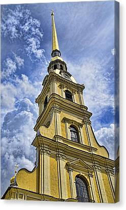 Cathedral Of Saints Peter And Paul - St. Persburg Russia Canvas Print by Jon Berghoff