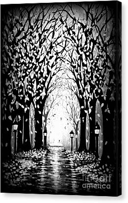 Cathedral Park Canvas Print by Janine Riley