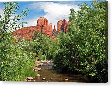Cathedral Point - Sedona Arizona Canvas Print by Gregory Ballos
