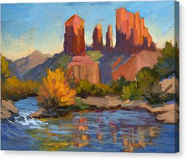 Cathedral Rock 2 Canvas Print by Diane McClary
