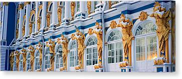 Catherine Palace Pushkin Russia Canvas Print by Panoramic Images