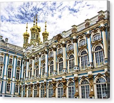 Catherine Palace - St Petersburg Russia Canvas Print by Jon Berghoff