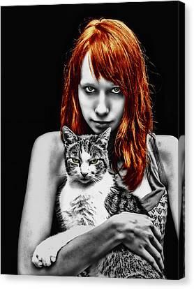 Cats Canvas Print by Joachim G Pinkawa