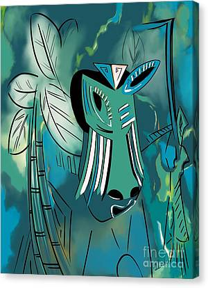 Cavamoru Canvas Print by Barbara Drake