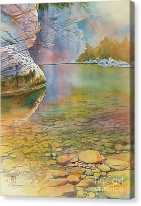 Cave Springs Canvas Print by Robert Hooper