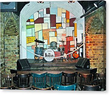 Beatles Cavern Museum Canvas Print by Kenneth A Mc Williams