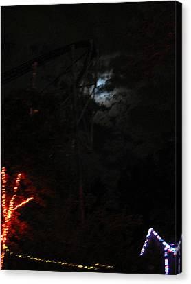 Cedar Point - 12128 Canvas Print by DC Photographer