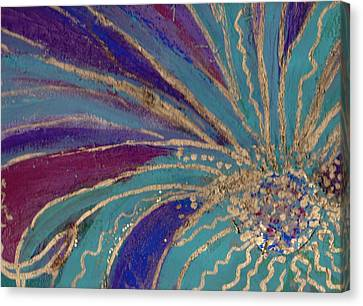 Celebration IIi Canvas Print by Anne-Elizabeth Whiteway