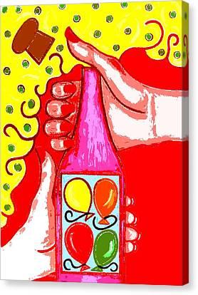 Celebration Canvas Print by Patrick J Murphy
