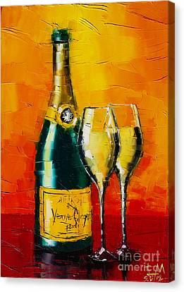 Celebration Time Canvas Print by Mona Edulesco