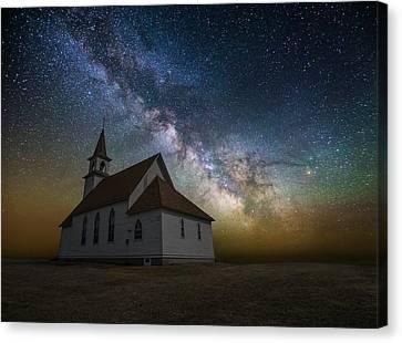 Celestial Canvas Print by Aaron J Groen
