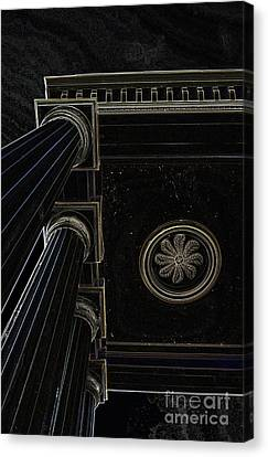 Celestial Pillars Canvas Print by Inspired Nature Photography Fine Art Photography